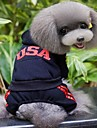 Cat Dog Coat Hoodie Dog Clothes Cosplay Wedding Letter & Number Black Gray Rose Red Costume For Pets