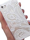 Doopootoo™ White Floral Paisley Flower Mandala Painted Pattern Slim Plastic Back Hard Case Cover For iPhone 6 Plus 5.5""