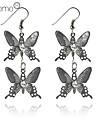 lureme®butterflies pendentif boucles d'oreilles