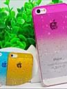 прозрачный монохромные задняя крышка вода чехол для iPhone 5/5 секунд (ассорти цветов)
