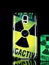 radiação padrão brilham no escuro caso difícil para Samsung Galaxy i9600 s5