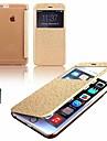 karzea® motif fleur de vigne cuir PU cas de tout le corps avec fente pour carte et le stylet pour iPhone 6 plus (couleurs assorties)