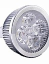 1pc 5W 500lm GU5.3(MR16) Lampadas de Foco de LED MR16 4 LEDs LED de Alta Potencia Regulavel Branco Quente Branco Frio 2800-3200/6000-6500