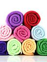 fibre superfine multifonctionnel serviette sèche de vitesse rectangulaire (couleur aléatoire)