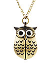 Women\'s Owl Style Alloy Band Quartz Necklace Watch (Assorted Colors) Cool Watches Unique Watches Fashion Watch Strap Watch