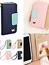 DF Colorful Little Bird PU Leather Full Body Case with Strap for Samsung S4 I9500 (Assorted Colors)