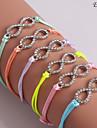 Eruner®Zircon Colorful Infinite Pattern Bracelet(Assorted Colors)