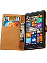 Genuine Leather Wallet Style Case for Nokia Lumia 930 (Assorted Colors)