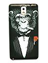 삼성 갤럭시 노트 3 침팬지 패턴 얇은 하드 케이스 커버