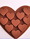1pc Σιλικόνη Φιλικό προς το περιβάλλον Αντικολλητικό Κέικ Μπισκότα Σοκολατί ψήσιμο Mold Εργαλεία ψησίματος