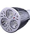 3.5 GU10 LED Spotlight MR16 3 leds High Power LED Cold White 300-350lm 6000-6500K AC 220-240V