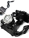 Headlamps Headlight LED 1600 lm Mode Cree XM-L T6 Cree T6 Cree with Charger Rechargeable Camping/Hiking/Caving Cycling/Bike Multifunction