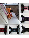 Собака Ремни Собачья упряжка для использования в авто/Собачья упряжка для безопасности Водонепроницаемость Нейлон Черный Лиловый Красный