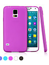 GGMM® Pure-S5 Transparent Soft Gel Cover Protective Case for Samsung Galaxy S5 I9600(Assorted Colors)