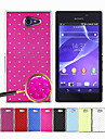 All Over The Sky Star Pattern Full Body Case  for Sony Xperia M2 S50h(Assorted Colors)