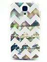 Pour Samsung Galaxy Coque Motif Coque Coque Arriere Coque Lignes / Vagues PUT pour Samsung S4 Mini
