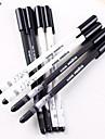 Ручка Ручка Гелевые ручки Ручка, пластик Черный Цвета чернил For Школьные принадлежности Офисные принадлежности В упаковке