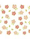 1 - Autocollants 3D pour ongles - Doigt/Orteil - en Fleur/Adorable/Mariage - 10.5*7.5cm