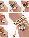 Women's Bow Bracelet Quartz Watches(Assorted Colors) C&D-131 Cool Watches Unique Watches