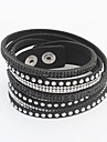 European Trendy All-match Wrap Bracelet(1pc) Jewelry Christmas Gifts