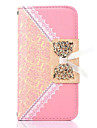 Bud Silk Pattern PU Leather Case with Stand for Samsung Galaxy S4 MINI I9190(Assorted Color)