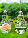 """4,3 """"h créatif suspendus micro paysage bouteille en forme d'ampoule"""