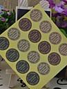 estilo coreano multifuncion sellado decorativos pegatinas bricolaje hornear (16 pegatinas / pcs)