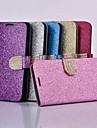 Capinha Para Samsung Galaxy Samsung Galaxy Note Flip Capa Protecao Completa Glitter Brilhante PU Leather para Note 3