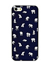 Lovely Little Elephant Design PC Hard Case for iPhone 4/4S iPhone Cases