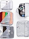 Textile Oval Travel Home Organization, 1pc Storage Bags