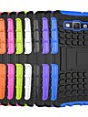 Tire Wave Pattern TPU Back Case with Holder for Samsung A5 Galaxy A Series Cases / Covers