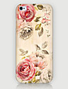 For iPhone 5 etui Etuier Mønster Bagcover Etui Fjer Hårdt PC for iPhone SE/5s iPhone 5