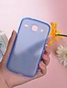 Кейс для Назначение SSamsung Galaxy Кейс для  Samsung Galaxy Ультратонкий Прозрачный Задняя крышка Сплошной цвет PC для Core
