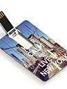 4gb сохранять спокойствие и жить в Нью-Йорке дизайна карты USB флэш-диск