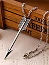 Муж. Ожерелья с подвесками В форме сердца Крылья / Перья Сплав Любовь бижутерия Бижутерия Назначение Повседневные
