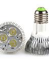 6W 300-350lm E26 / E27 LED Par Işıklar PAR20 3 LED Boncuklar Yüksek Güçlü LED Sıcak Beyaz / Serin Beyaz 100-240V / 85-265V