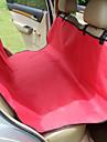 Chien Housse pour Siege de Voiture Animaux de Compagnie Tapis & Planches Couleur Pleine Etanche Portable Pliable Noir Gris Cafe Rouge Bleu