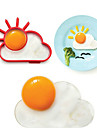 Kitchen Tools Stainless Steel Creative Kitchen Gadget DIY Mold Egg 1pc