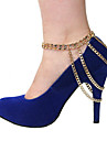 Anklet - Party, Casual, Fashion Gold / Silver For Daily Women\'s