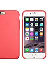 Capinha Para Apple iPhone 8 / iPhone 8 Plus / iPhone 7 Antichoque Capa traseira Solido Macia Silicone para iPhone 8 Plus / iPhone 8 / iPhone 7 Plus
