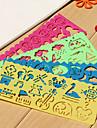 Facil Ruler Dibujo Infantil (colores aleatorios)