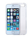 PC-sided Transparent Plastic Lid Down Hard Shell Phone Shell Suitable for iPhone 5 5S