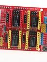 ЧПУ щит v3 гравировальный станок 3d принтер a4988 плата расширения плата драйвера для Arduino