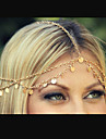 European Style Fashion Chain Tassel Ultra-shiny Wavy Hair Band