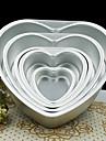 5-дюймовый металл форма сердце любовь торт плесень съемный жить снизу тесто формы