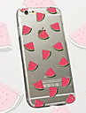 Diced Watermelon Pattern TPU Material Phone Case for iPhone 6/6S