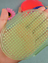 Dog Grooming Cleaning Brush Random Colour Red Green Blue