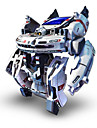 7 In 1 Robot Solar Powered Toys Toys Solar Powered Rechargeable ABS Pieces Gift