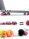 Coosbo® Super Mini Heat Reduction Stand Balls for Laptop Notebook (Random Color)