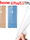 Para iPhone 6 Plus Case Tampa Capa Traseira Capinha Macia PUT para iPhone 6s Plus iPhone 6 Plus